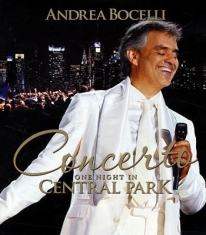 Andrea Bocelli - One Night In Central Park - Bluray