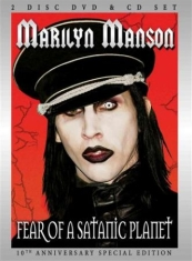 Marilyn Manson - Fear Of A Satanic Planet Dvd/Cd