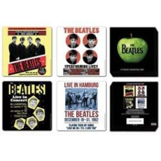 The beatles - The Beatles 1962 anniversary 4 pieces coaster set