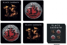 Black Sabbath - 13 4 pieces cork coaster set