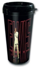 Elvis Presley - In lights travel mug