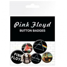 Pink Floyd - Pink Floyd Albums Button Badges 6 st