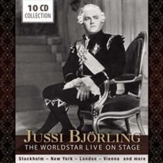 Jussi Björling - The Worldstar Live On Stage
