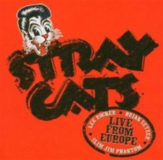 Stray Cats - Live In Paris 5Th July 2004