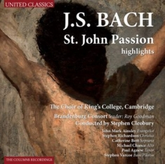 Bach Johann Sebastian - St. John Passion Highlights