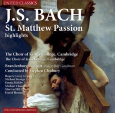 Bach Johann Sebastian - St. Matthew Passion Highlights