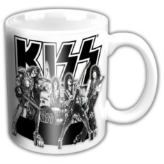Kiss - Kiss - Graphite Band Mug