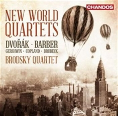 Blandade Artister - New World Quartets