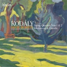 Kodaly - String Quartets