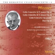 Pfitzner - Romantic Cello Concerto Vol 4