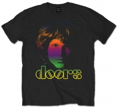The Doors Break On Through Mens Black T Shirt: Lar - T-shirt