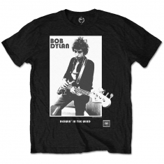 Bob Dylan Blowing In The Wind Mens Blk TS