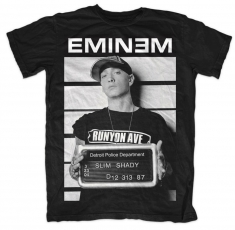 Eminem Arrest Mens T Shirt