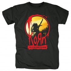 Korn Stage Mens Black T Shirt