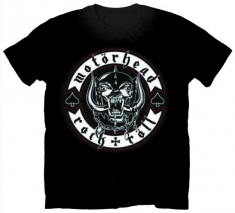 Motorhead Biker Badge Mens T Shirt
