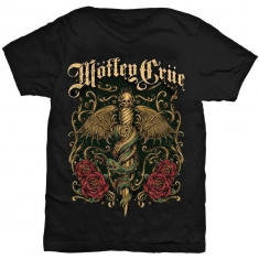 Motley Crue Exquisite Dagger Mens Black T Shirt