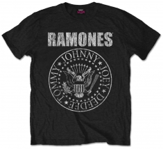 Ramones Seal Mens Black T Shirt: