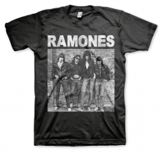 Ramones 1st Album Mens Black T Shirt