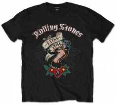 Rolling Stones Miss You Black Mens T Shirt