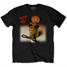 Rolling Stones Sticky Fingers Treacle Mens Black T