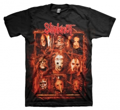 Slipknot Rusty Face Mens Black T Shirt