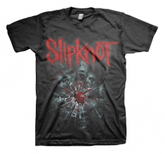 Slipknot Shattered Mens Black T Shirt