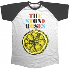 Stone Roses Lemon Multicolour Short Sleeve Raglan