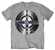 The Who Quadrophenia Grey Mens T Shirt