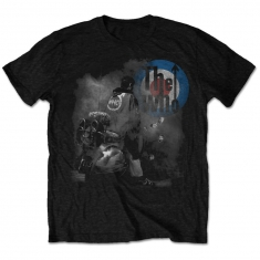 The Who Quadrophenia Album Cover Mens Blk