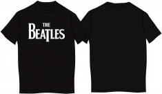 The Beatles Drop T TShirt_Black