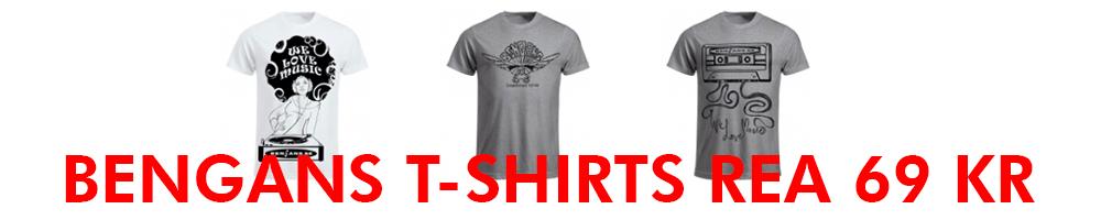 Bengans t-shirts
