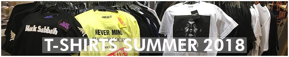 T-shirts Summer 2018